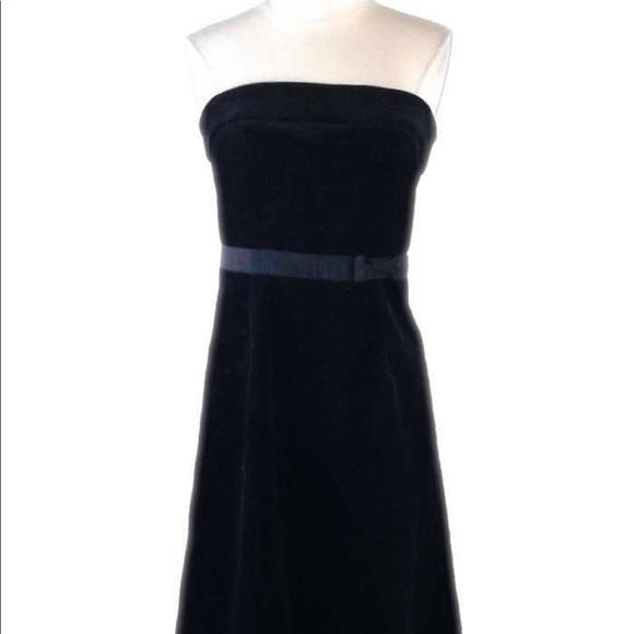 e3ef159b1d J. Crew Dresses   Skirts - J. Crew Black Velvet Strapless Dress